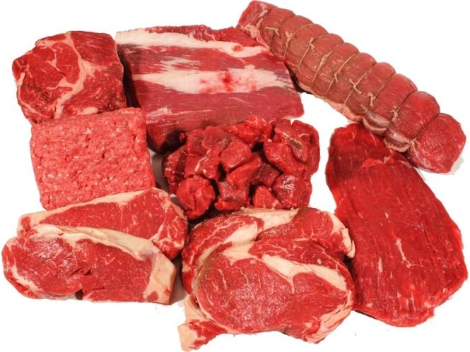 Nutritional value of beef and culinary purpose of beef parts