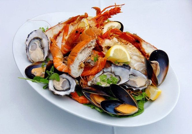 Seafood - the characteristics and nutritional value